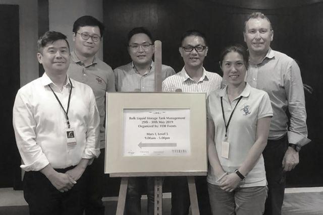 Dargavel conduct Bulk Liquid Storage Tank Management Training in Singapore