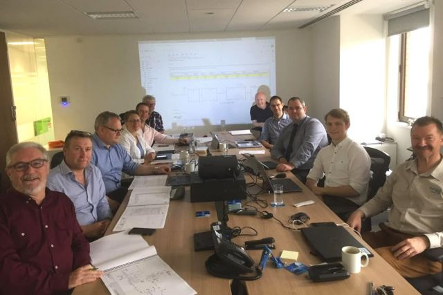 24th and 25th June 2019 - Dargavel Engineering, Richmond upon Thames office host the Tema LNG onshore Pipeline and Pressure Reduction Metering Station, Design Hazard and Operability Study (HAZOP). Attendees from Tema LNG, AECOM, Dargavel Engineering attended.